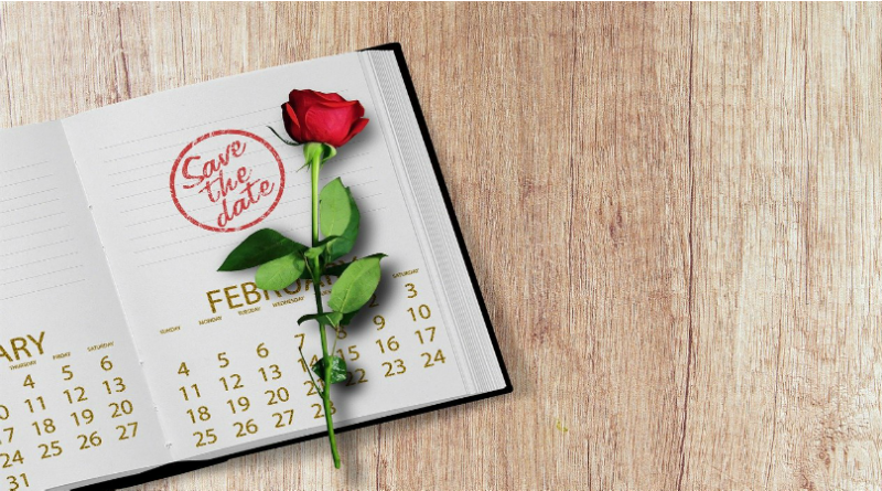 Valentine Week Days List 2020 Calendar