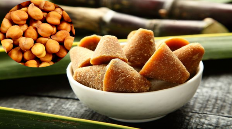 Benefits of Eating Jaggery and Gram
